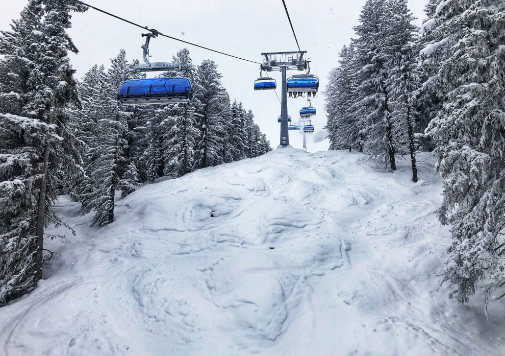 25 feiten over skien in Sölden Gaislachkogl, Tiefenbachkogl en Schwarze Schneide