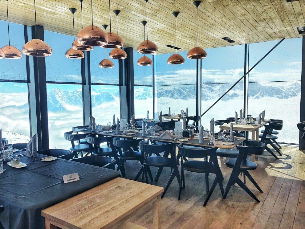 De beste berghut van Sölden Ice Q restaurant James Bond Spectre Sölden Gaislachkogl