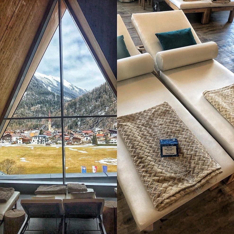 Wat als je niet wilt skien in Sölden, activiteiten in Sölden Aqua DomeLängenfeld