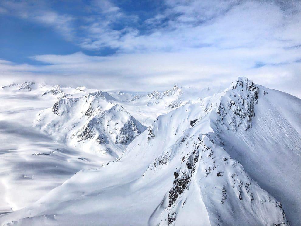 25 feiten over skien in Sölden BIG3 Tiefenbachkogl Widspitze Hoogste berg van Tirol