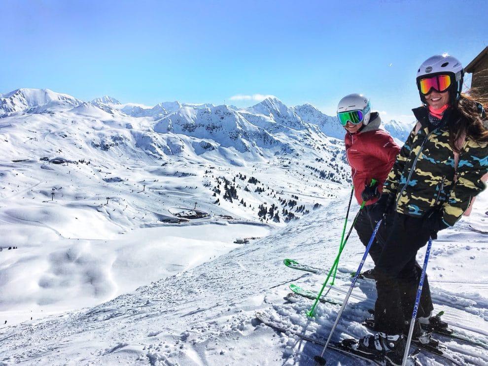 Skien in Obertauern Oostenrijk