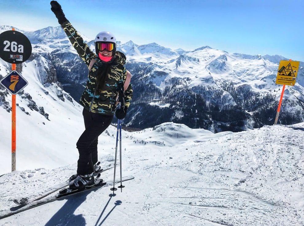 Skien in Obertauern Oostenrijk SheSkis Atomic ski's Cloud 12 Gamsleiten 2