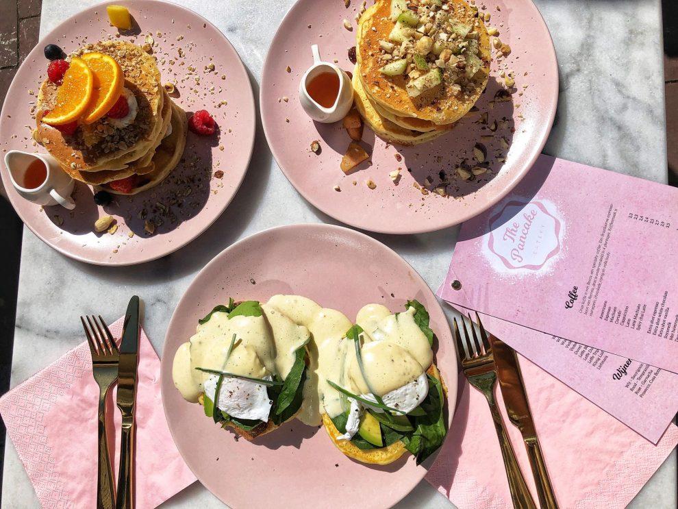 Eatery the PancakeMaarten Kolff en Jill van Zadelhoff American Pancakes eten in Nijmegen