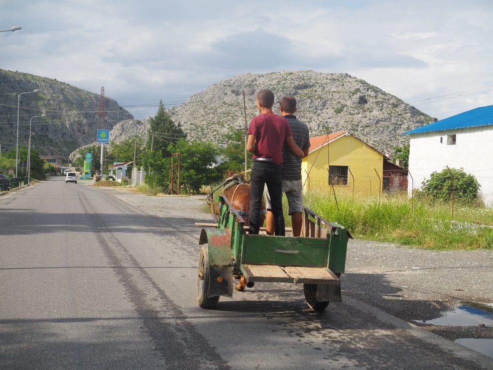 Rondreis door Noord Albanië - wegen in Albanië