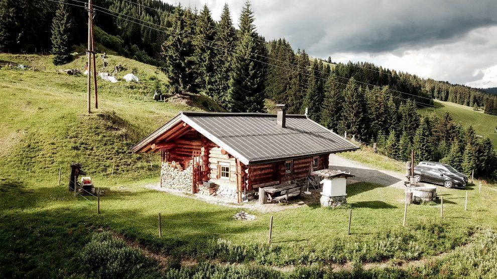5 dagen Saalbach - Hinterglemm in de zomer Underschied Alm Saalbach