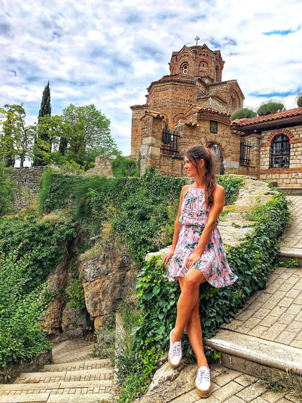 Vakantie naar Macedonië het oude centrum van Ohrid