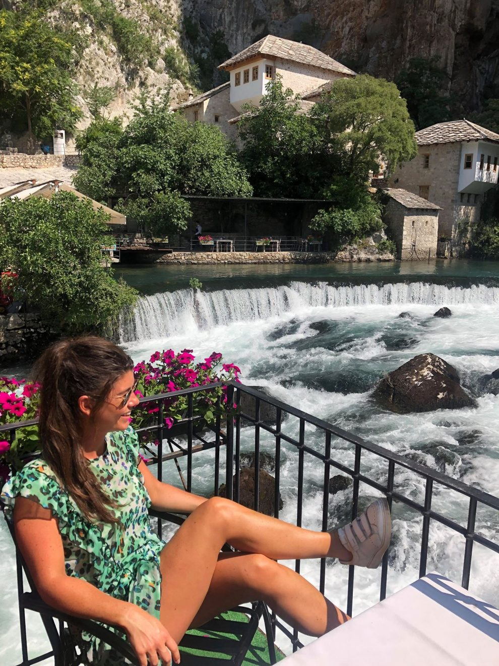 rondreis door Bosnie & Herzegovina Kravica Waterval Blagaj