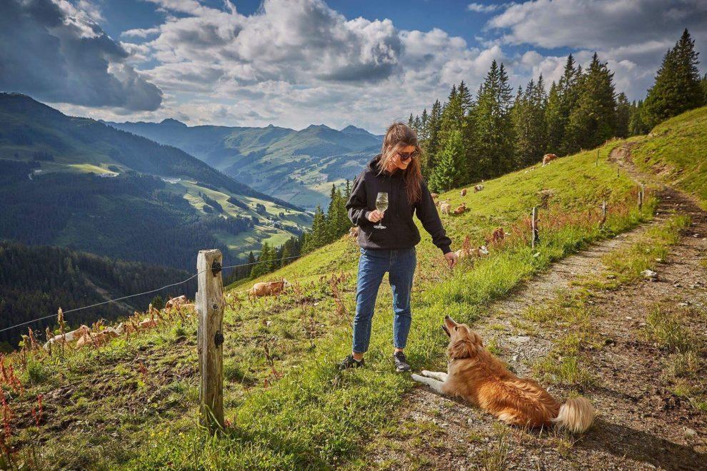 5 dagen Saalbach - Hinterglemm in de zomer Hacklbergeralm