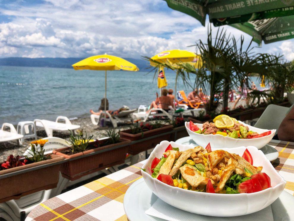 Vakantie in Macedonië Het meer van Ohrid