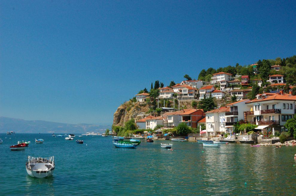 Vakantie naar Macedonië Meer van Ohrid