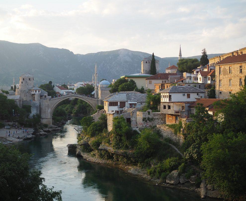 rondreis door Bosnie & Herzegovina Stari Most brug Mostar