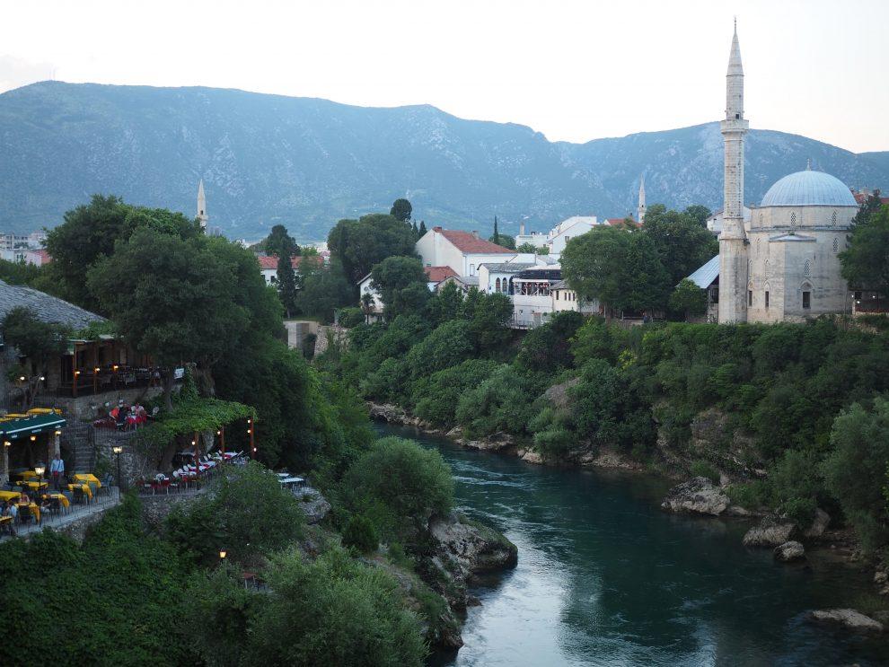 rondreis door Bosnie & Herzegovina oude centrum van Mostar