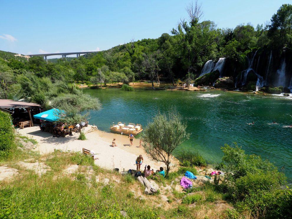 rondreis door Bosnie & Herzegovina Kravica Waterval