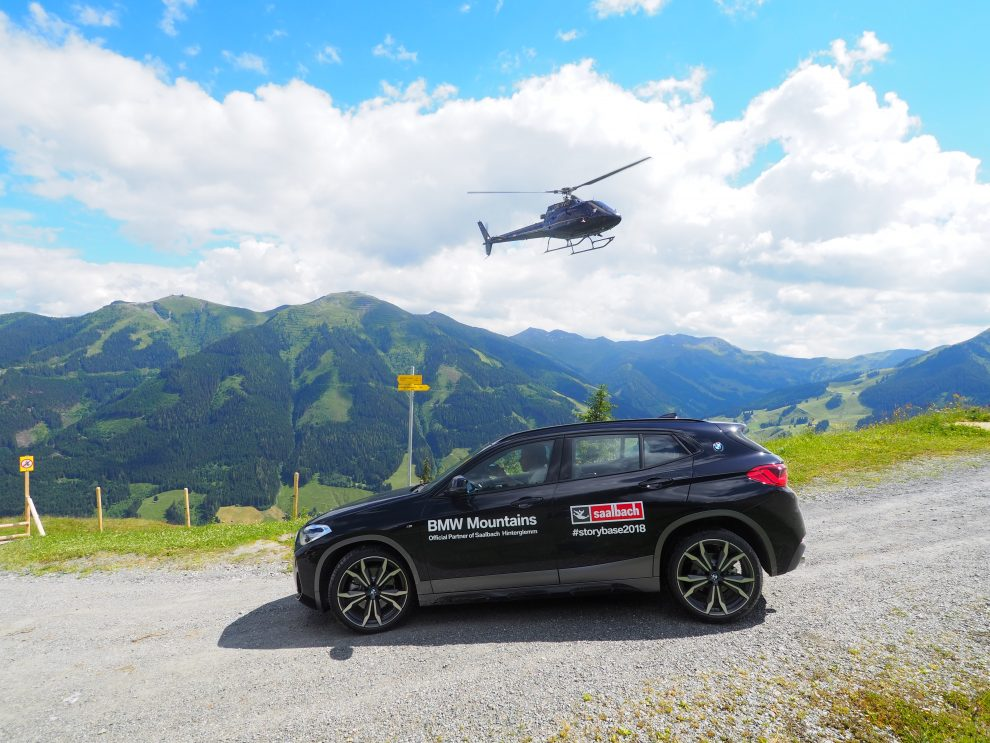5 dagen Saalbach - Hinterglemm in de zomer helikopter vlucht met Sennair
