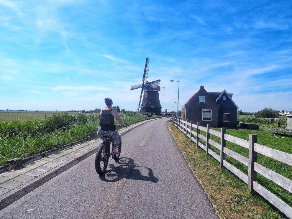 Dagje Volendam en Marken - E Chopper Bike naar Monnickendam