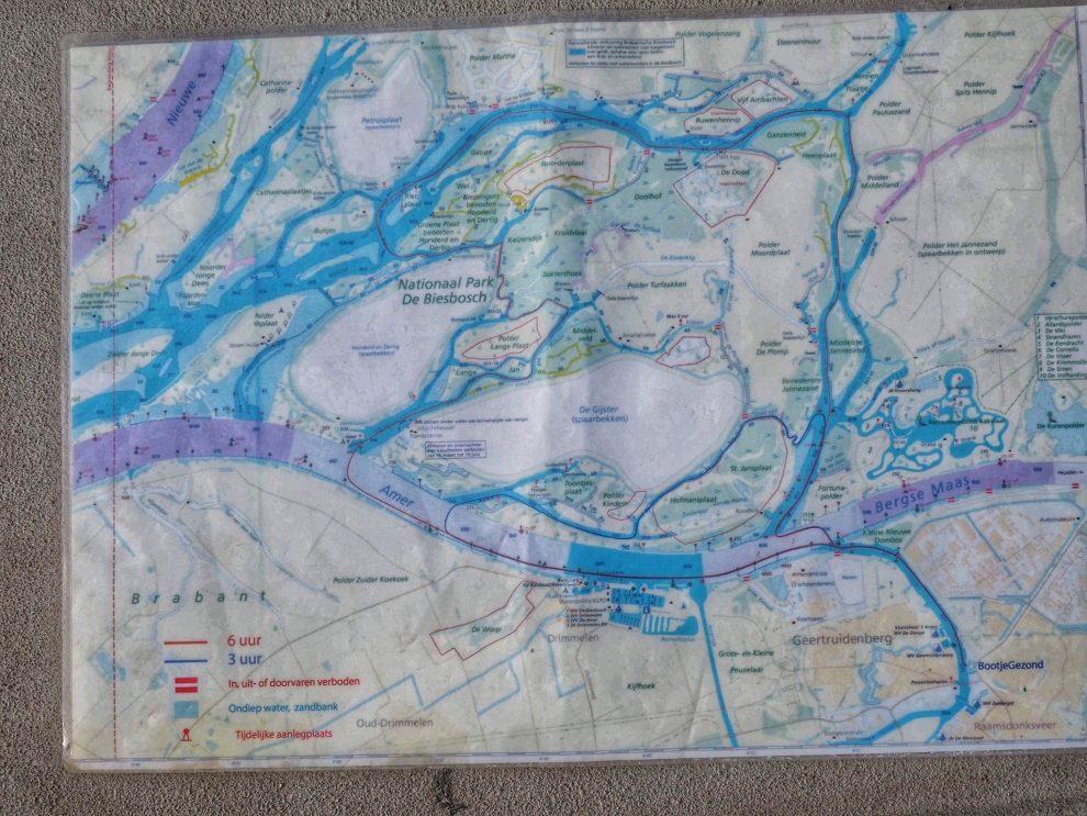 Een dag naar Natuurpark De Biesbosch in combinatie met Breda - vaarroute door de Biesbosch - zelf varen door de Biesbosch