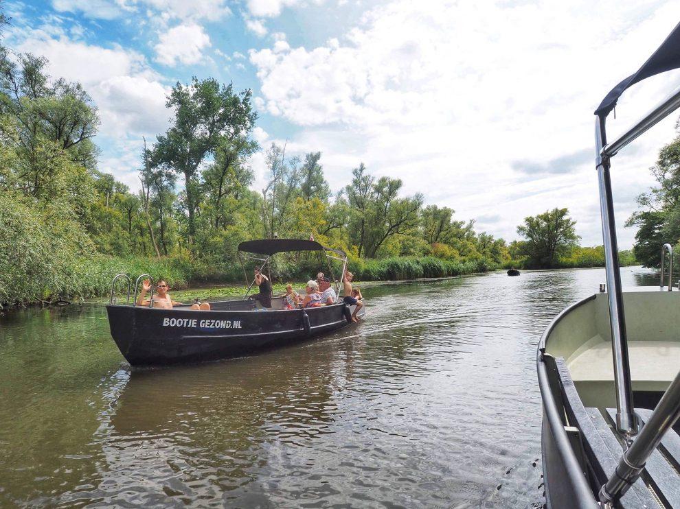 Een dag naar Natuurpark De Biesbosch in combinatie met Breda - Bootje Gezond Fort Lunet Raamsdonkveer