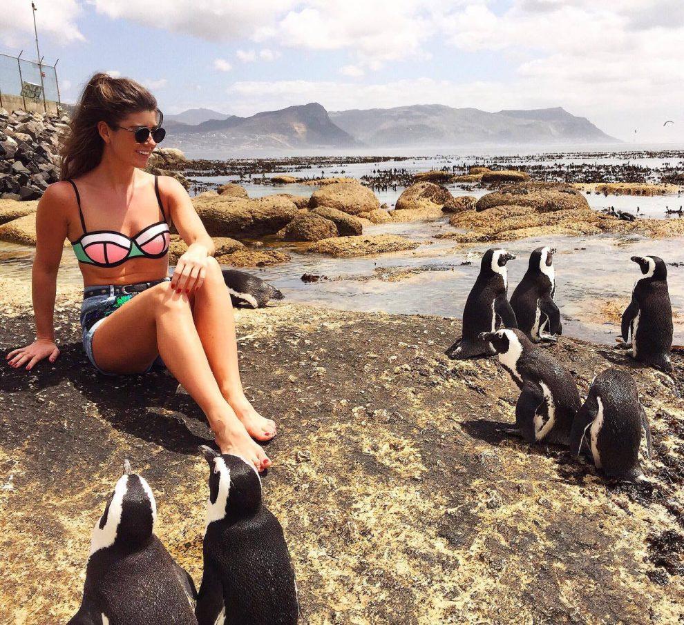 Boulder's Beach Kaapstad, Zuid Afrika. Mijn eerste keer in Kaapstad bij de pinguïns