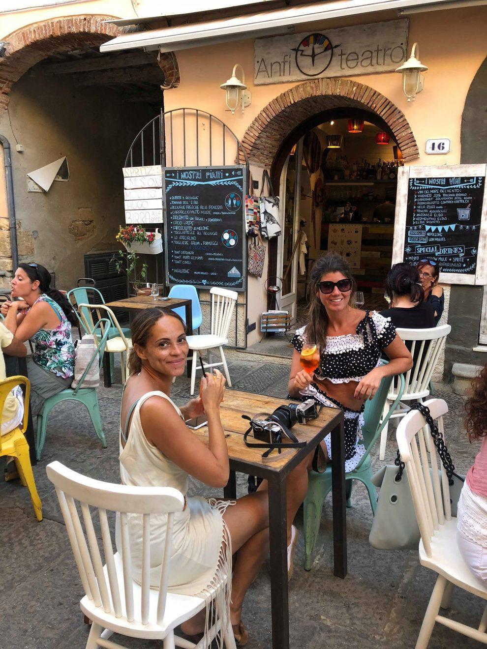 Vakantie opElba - Capoliveri;het leukste dorp van Elba - restaurants op Elba Anfi Teatro