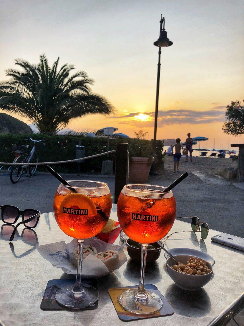 vakantie op Elba - Le Palme Bagnaia