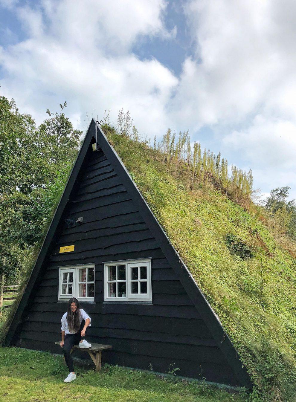 Uniek overnachten in een plaggenhut in Drenthe, Ruinerwold. De Pondspeer bij Toffe Peer