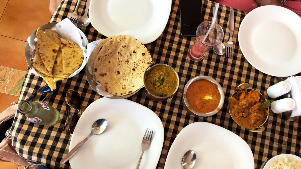 Agonda beach Zuid Goa. De leukste restaurants en lunch plekken van Zuid Goa. Dit is restaurant Fatima