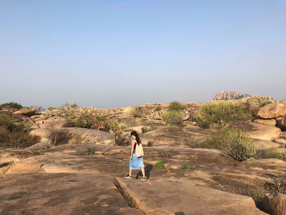 Reizen naar Hampi, Durga Devi Temple, Anegundi, travel guide to Hampi India