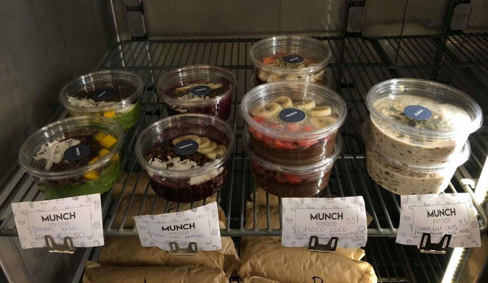 MUNCH Fit Food to Go. Healthy food voor de drukke Amsterdammer. Gezond - Vegan - clean food- lunchen in Amsterdam
