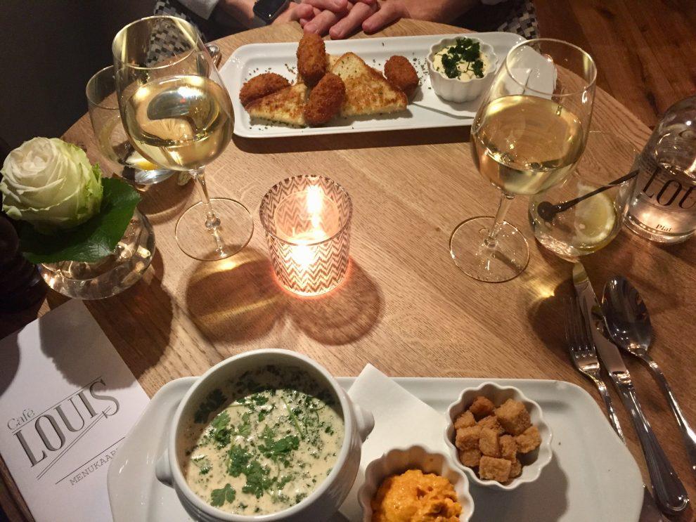 weekendje weg naar Maastricht, romantisch uitje bij hotel Monastère - restaurants in Maastricht Cafe Louis
