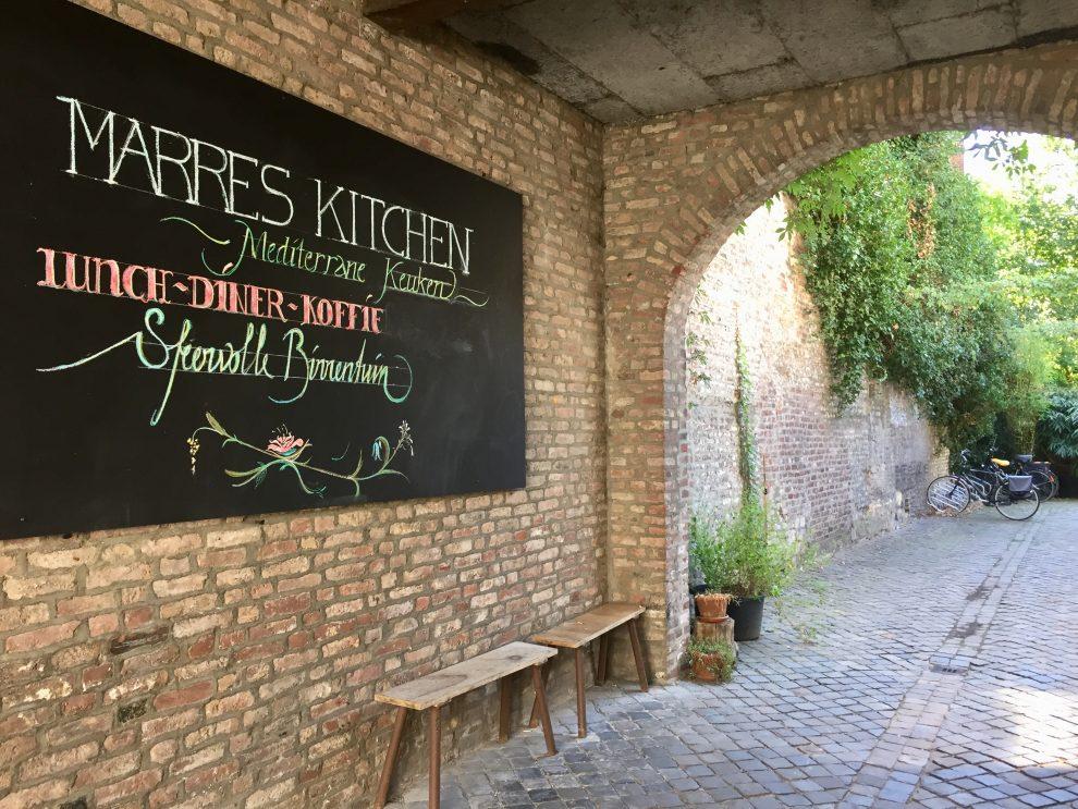 weekendje weg naar Maastricht, romantisch uitje bij hotel Monastère - restaurants in Maastricht Marres Kitchen