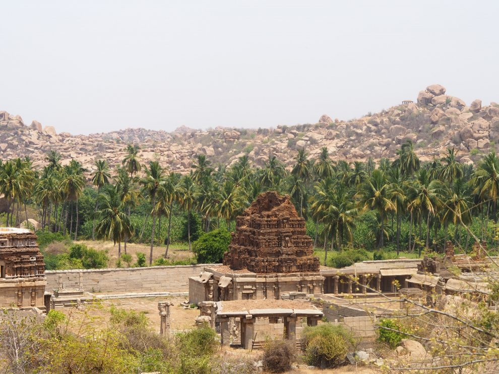 Reizen naar Hampi, Achyutraya Temple, travel guide to Hampi India