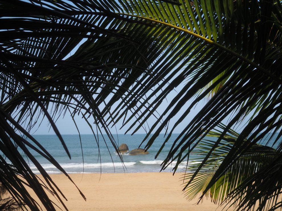 Agonda beach Zuid Goa. Een vakantie naar Goa India. De stranden van Zuid Goa