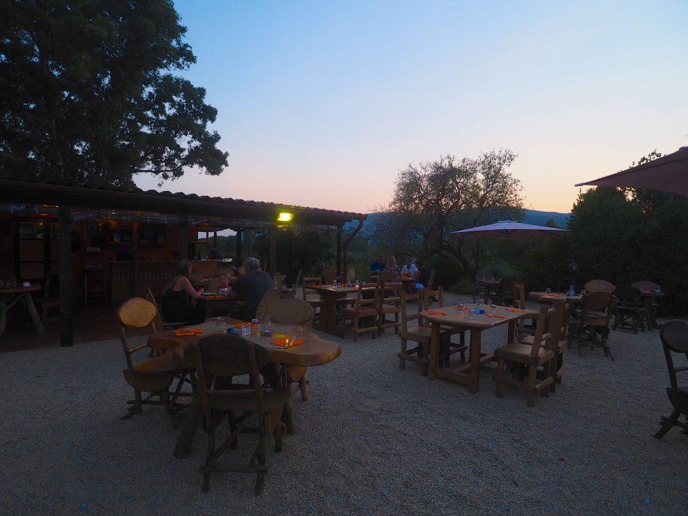 Lacona beach, Elba, Italie. glamping op Elba, restaurant tips op Elba Lo Zenzero