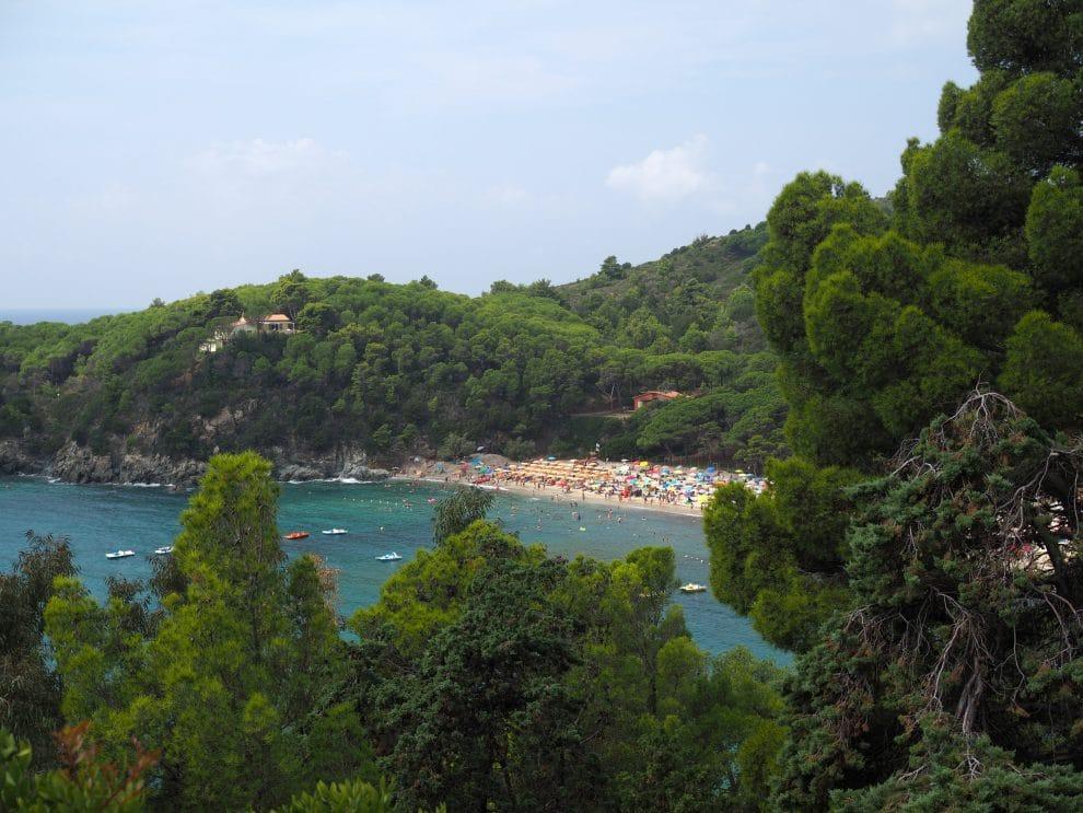 vakantie op Elba - Stranden op Elba Fetovaia