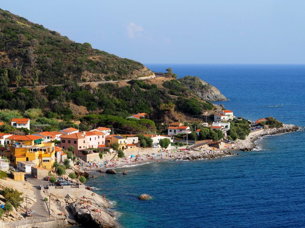 vakantie op Elba - Stranden op Elba Pomonte