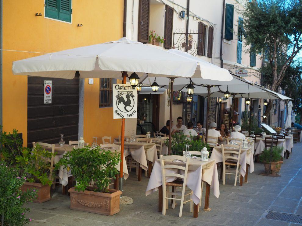 Vakantie opElab - Capoliveri;het leukste dorp van Elba - restaurants op Elba Osteria Gallo Nero