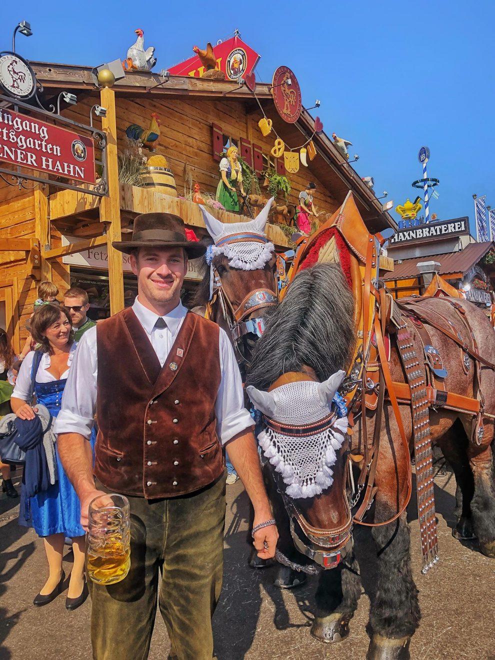 Oktoberfest München Duitsland.