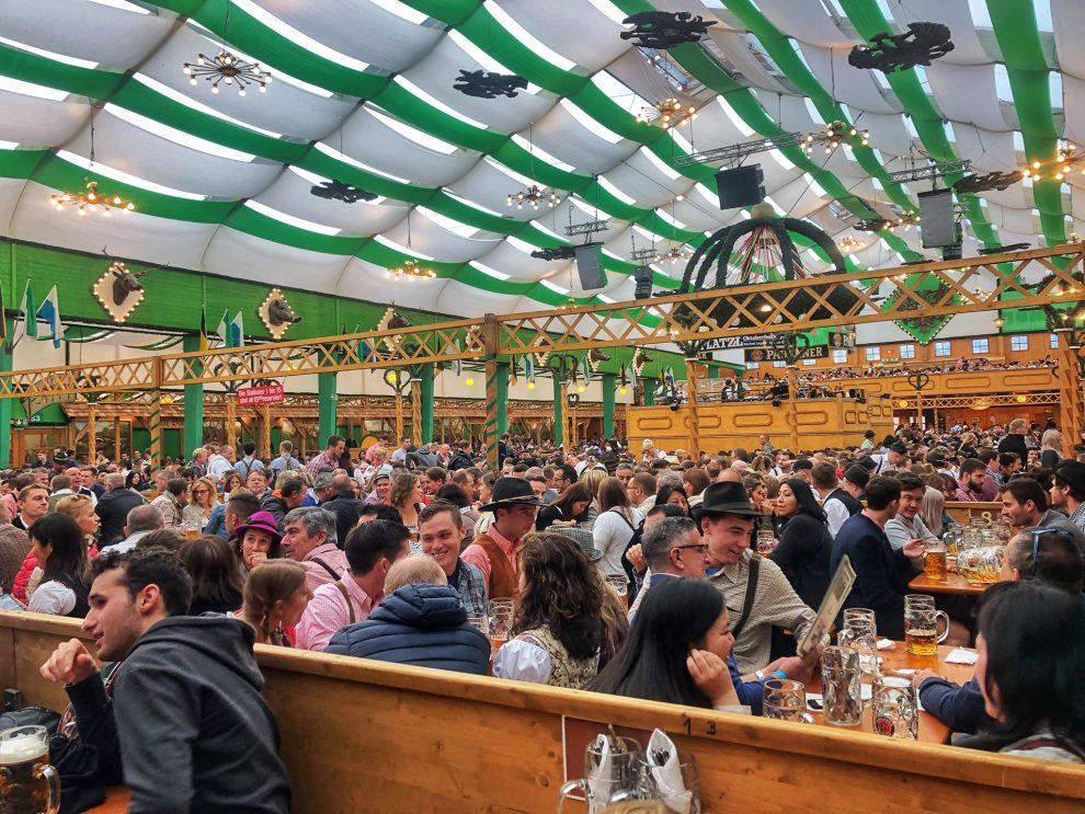Oktoberfest München Duitsland, Biertenten Oktoberfest München Duitsland, Biertenten Armbrustschützen
