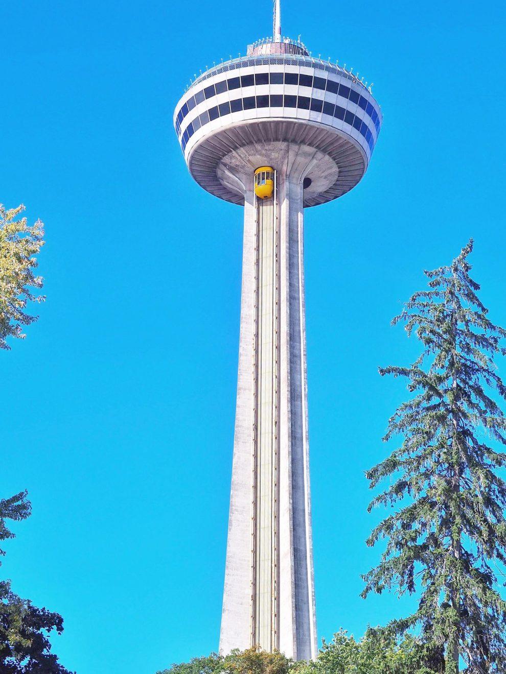 een bezoek aan de Niagara watervallen, tips. Niagara Falls. Skylon Tower