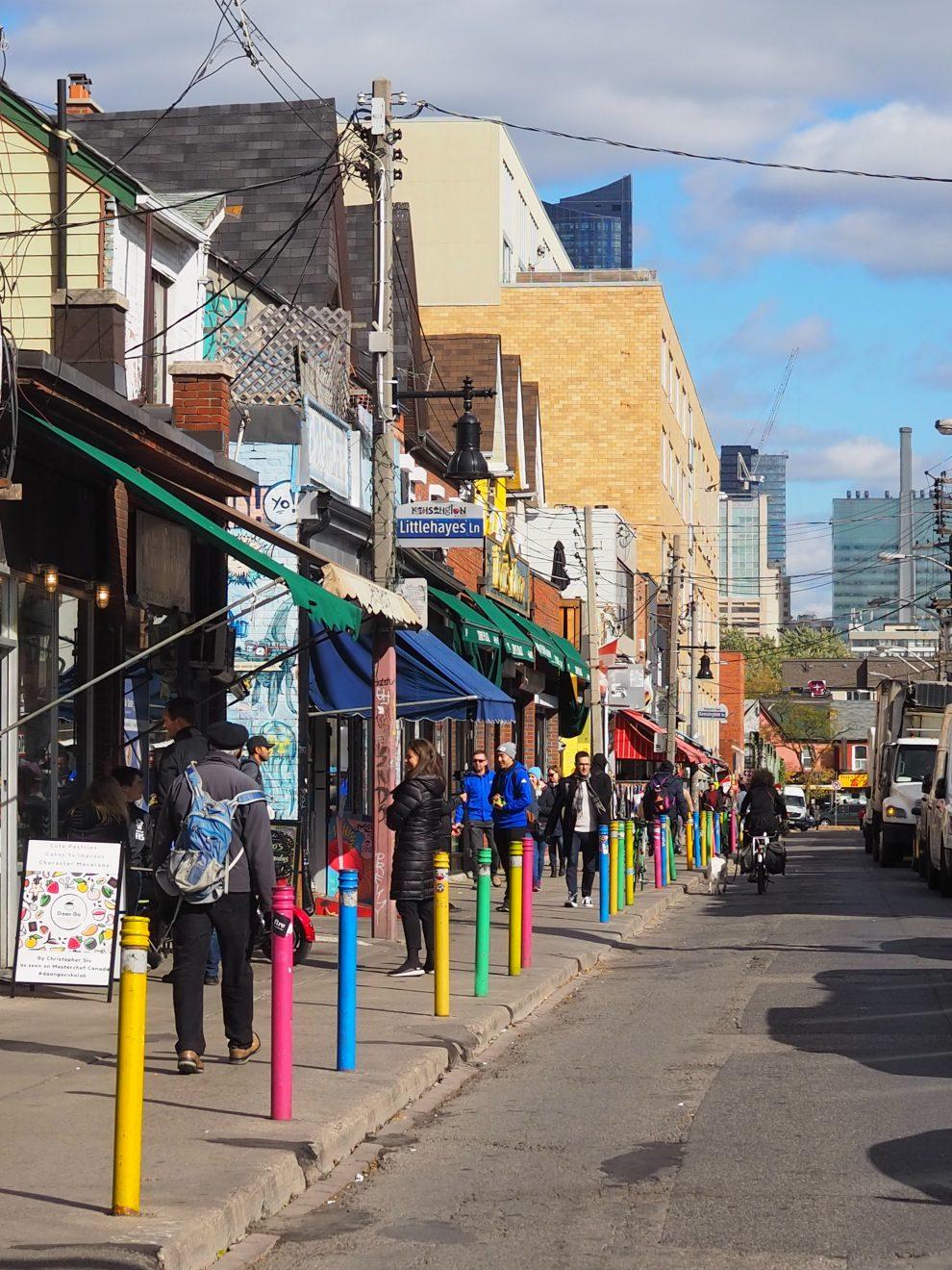 Citytrip Toronto. Leukste wijk in Toronto, Kensington market bezienswaardigheden Toronto Canada