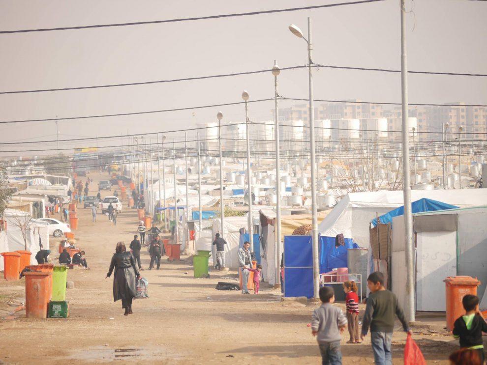 vluchtelingenwerk in Irak Mark Spijker