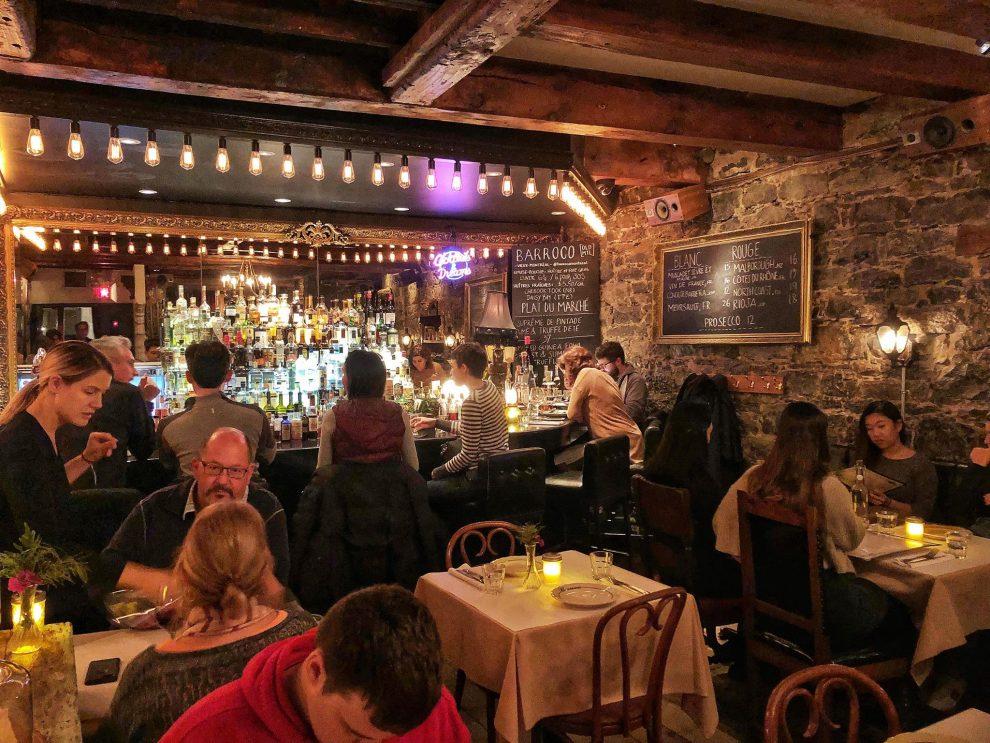citytrip Montréal Canada de leukste bezienswaardigheden Rue Saint-Paul restaurant Barroco