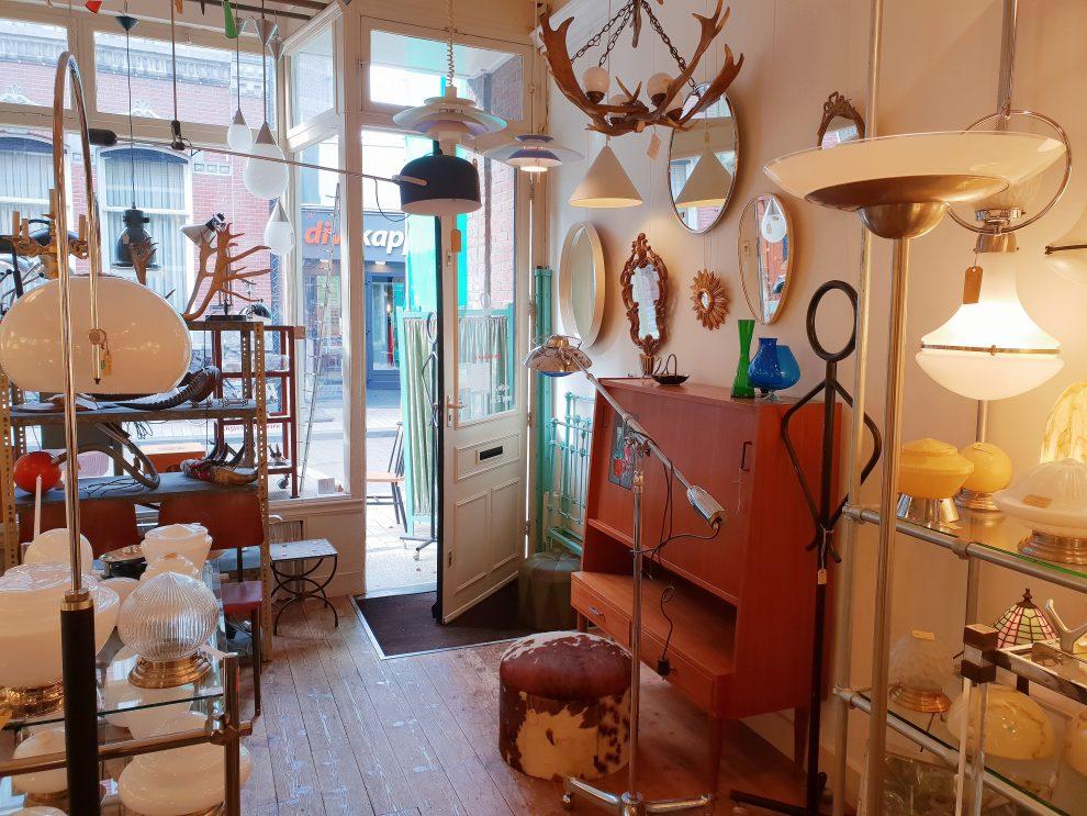 vintage winkels in Tilburg Alta Design