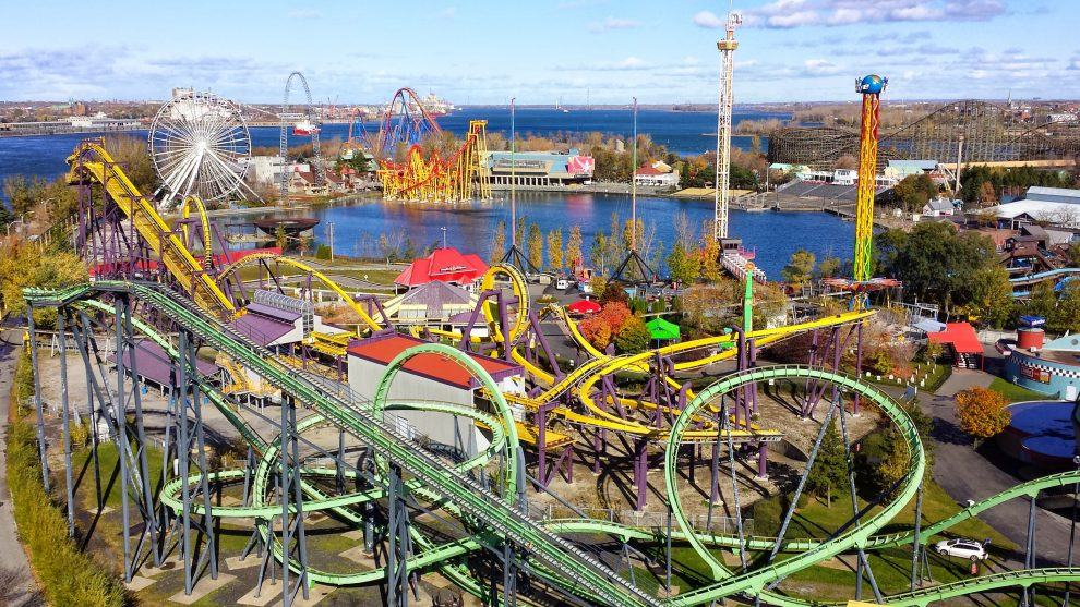 citytrip Montréal Canada de leukste bezienswaardigheden Six Flags La Ronde