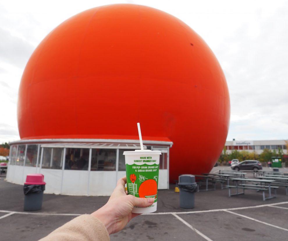 citytrip Montréal Canada de leukste bezienswaardigheden Orange Julep