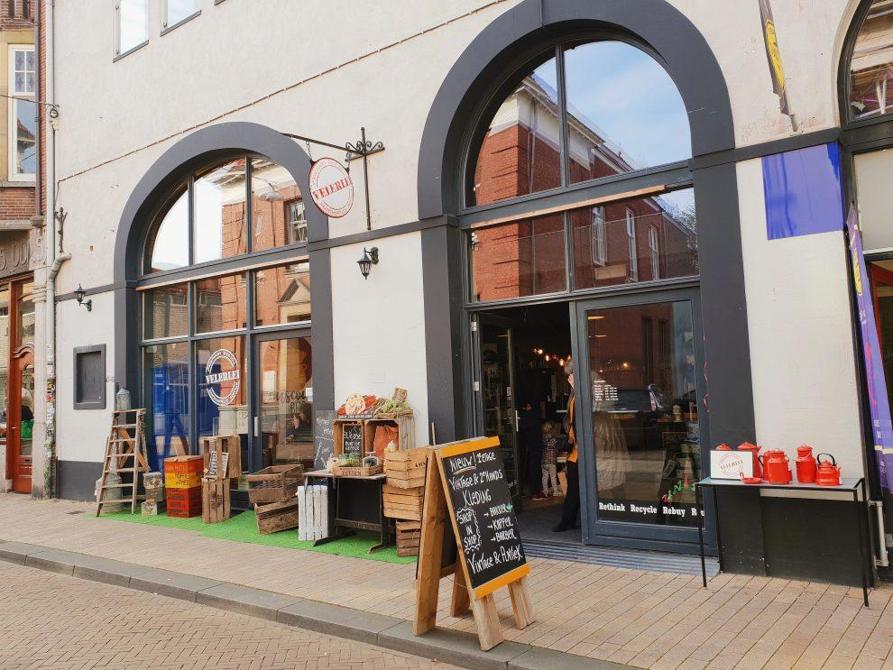 vintage winkels in Tilburg Velerlei Conceptstore