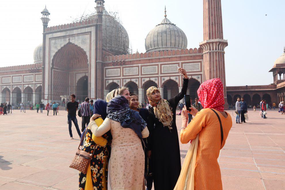 Reizen naar India Delhi Tessa Koster