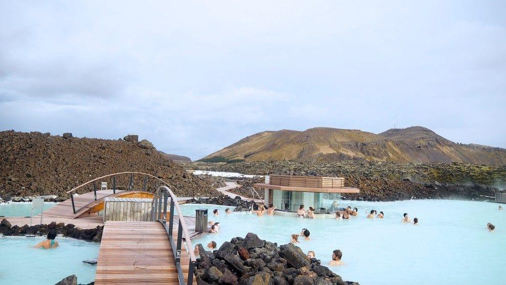 Met WOW air naar Canada stopover op IJsland Chloe Sterk Een bezoek aan The Blue Lagoon IJsland