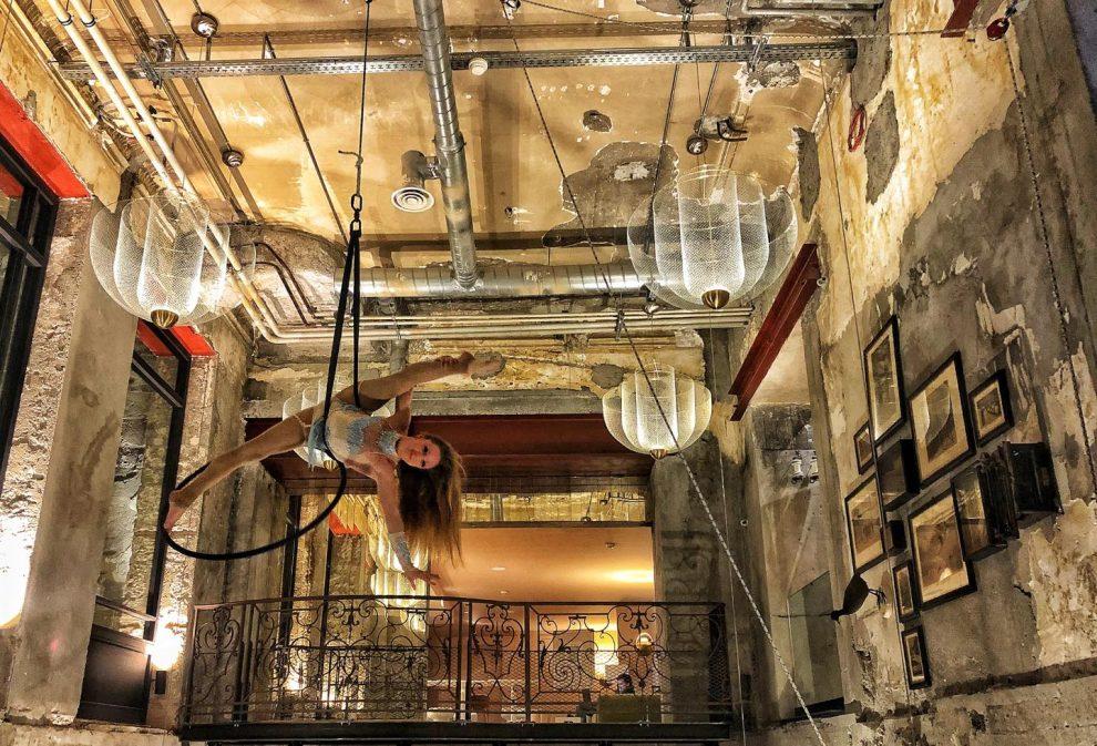 La Folie Douce hotel Chamonix - après-ski La Folie Douce de bar