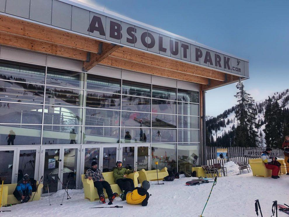 ski vakantie Oostenrijk, Absolut Park skiën in Flachau, ski amade Salzburger Sportwelt